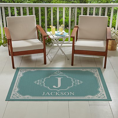 Traditional Family Oversized Outdoor Mat