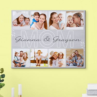 Cherished Memories Photo Canvas