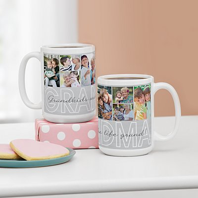 Cherished Memories Photo Mug