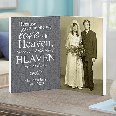 For Loved Ones In Heaven Photo Panel