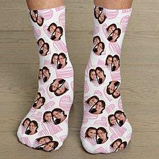 Heart Photo Socks