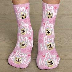 Pet Mom Photo Socks