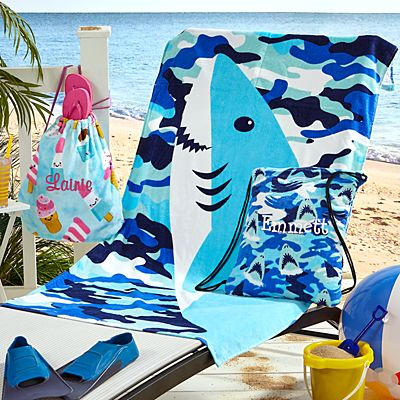 Summer Prints Towel Backpack