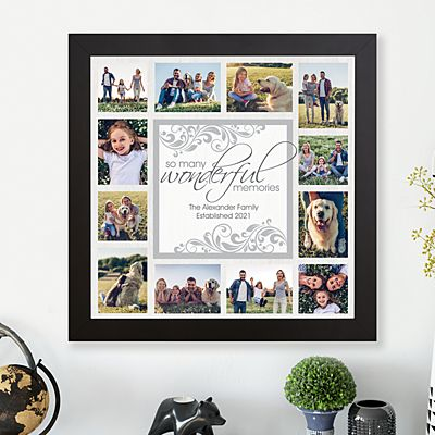 Wonderful Memories Photo Canvas