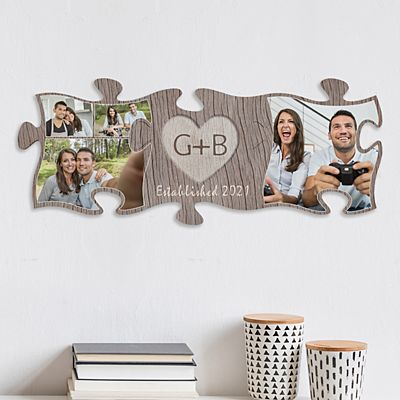 Carved In Love Photo Mini Puzzle Set