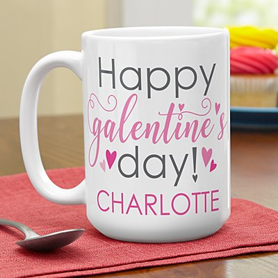 Happy Galentine's Day! Mug