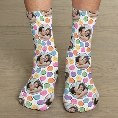 Heart Message Socks