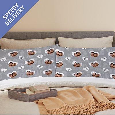 Love You All Around Photo Pillowcase