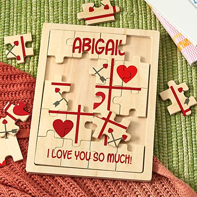 Tic Tac Love Wooden Puzzle