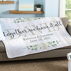 Together We Have It All Plush Blanket