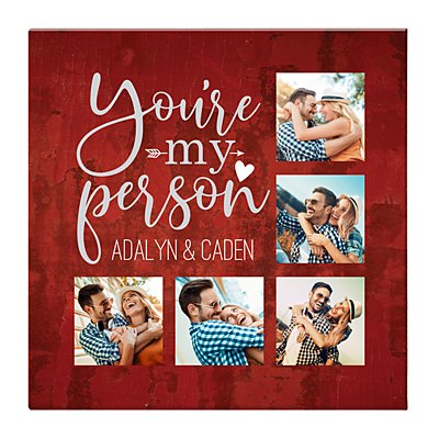 You're My Person Photo Canvas - 16x16
