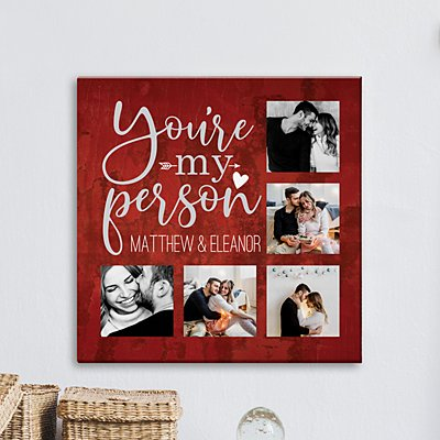 You're My Person Photo Canvas