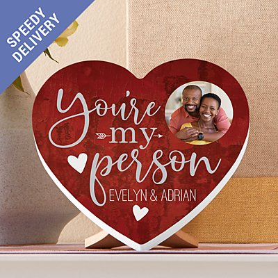You're My Person Photo Mini Wood Heart