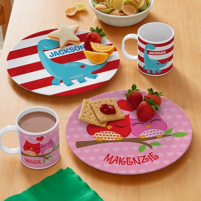 Made With Love Personalized Tableware