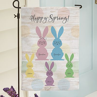 Love My Grandbunnies Garden Flag