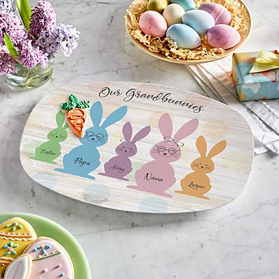 Love My Grandbunnies Platter