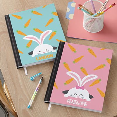 Peek-a-Boo Bunny Notebook