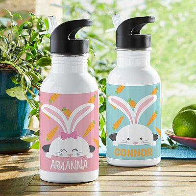 Peek-a-Boo Bunny Water Bottle