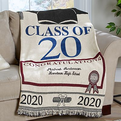 Graduation Throw