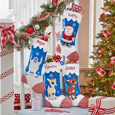 Rudolph® Character Personalized Stockings