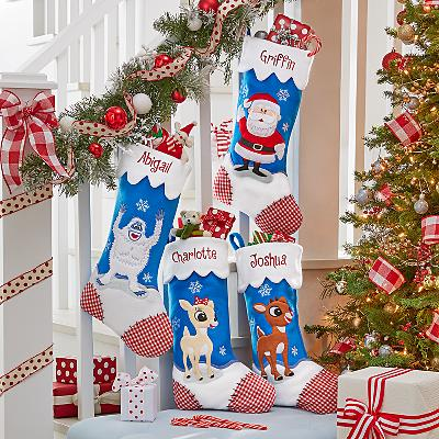 Rudolph the Red Nosed Reindeer® Personalised Stockings