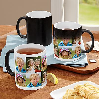 Picture Perfect Multi Photo Colour Changing Mug