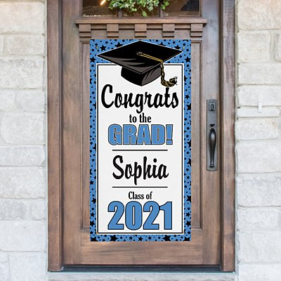Graduation Door Hanging Banner