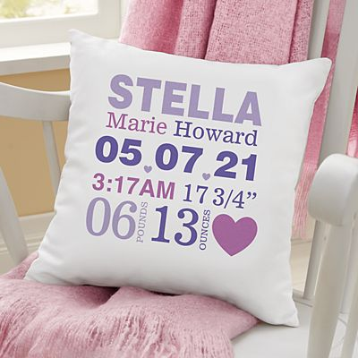 Love is in the Details Baby Throw Pillow