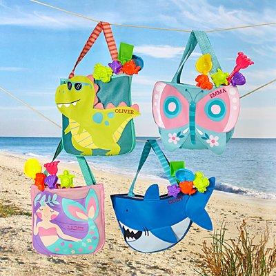 Stephen Joseph® Beachy Fun Totes & Sand Toys