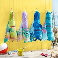 Stephen Joseph® Beachy Fun Hooded Beach Towels