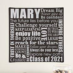 Dream Big Graduation Canvas