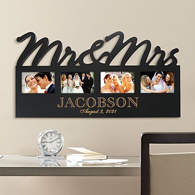 Mr. & Mrs. Frame Plaque