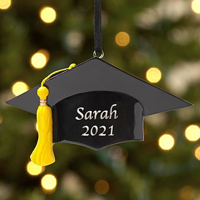 Caps Off to the Grad! Ornament