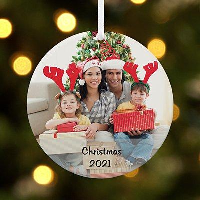Picture Perfect Photo Round Ornament
