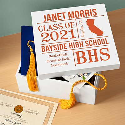 All About the Graduate Keepsake Box