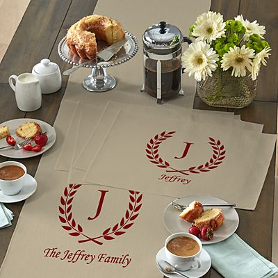 Rustic Charm Table Runner & Placemats