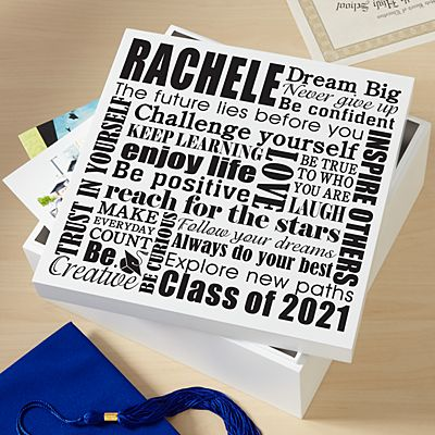 Dream Big Graduation Keepsake Box