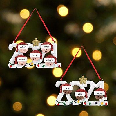 2021 Family Holiday Ornament