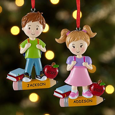 First Day of School Ornament
