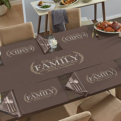 Better Together Table Runner & Placemats
