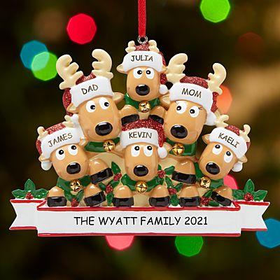 Rocking Reindeer Family Ornament
