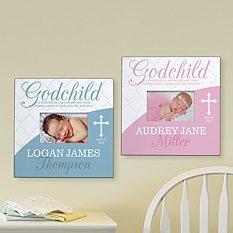 Blessings From Above Godchild Frame