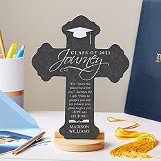 Graduation Journey Prayer Cross