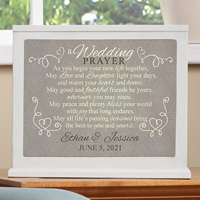 Wedding Prayer Accent Light