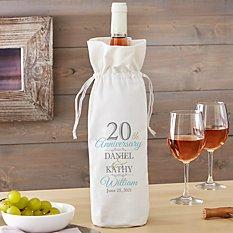 Anniversary Wine Bag