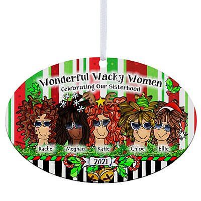 Celebrating Girlfriends Oval Ornament by Suzy Toronto - 5