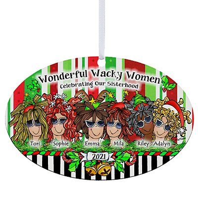 Celebrating Girlfriends Oval Ornament by Suzy Toronto - 6