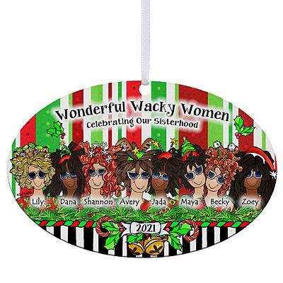 Celebrating Girlfriends Oval Ornament by Suzy Toronto - 8