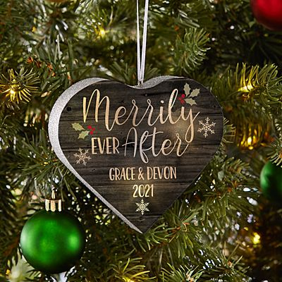 TwinkleBright® LED Merrily Ever After Heart Ornament
