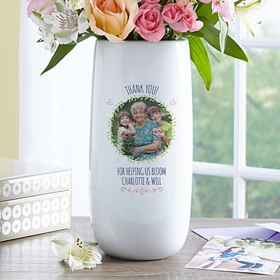 Love Blooms Photo Vase